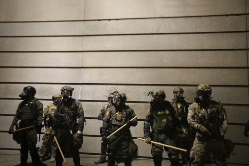 Portland prepares for US agents to step back from protests