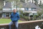 Scott MacEachern is trying to raise money to re-open Hopewell House (in the background) and give Oregonians a good place to die.